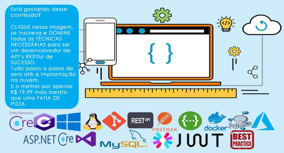 RESTFul API's do 0 à Nuvem Com ASP.NET Core 2.0 e Docker
